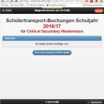 4.2 Choose MVV for Schoolbus & MVV-Karte